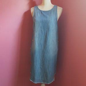 Universal Thread Side Button Denim Dress